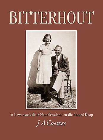 Cover of Bitterhout, a book by J A Coetzee